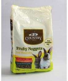 Burgess COUNTRY  Fruity jänesetoit 1,5kg