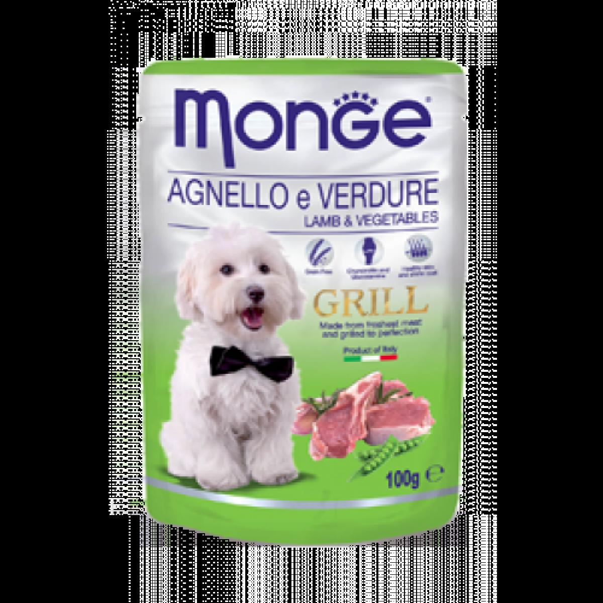 249e1d10fb2 Monge Dog Grill Lamb & Vegetables 100g