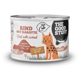 THE GOODSTUFF CAT beef & carrot 200g