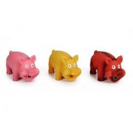 IPTS Dog toy PIG latex 16cm