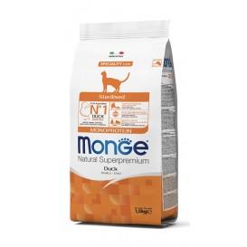 MONGE CAT MONOPROTEIN DUCK 1,5kg