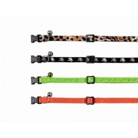 Nobby cat collar with bell, orange