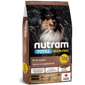 Nutram T23 Total Grain Free Chicken & Turkey Dog Food 13,6kg
