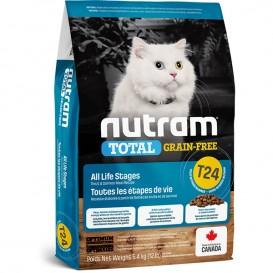 Nutram T24 Total Grain Free Salmon & Trout Cat Food 6,8 kg