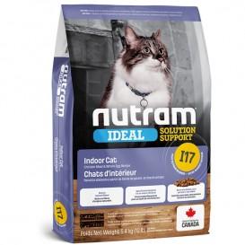 Nutram I17 Ideal Solution Support Indoor Cat Food 6,8kg