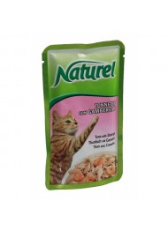 Life Cat Naturel Tuna & Shrimps 55 g pouch
