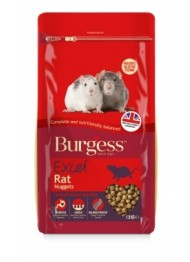 Burgess EXC RAT NUGGITS rat food 1,5 kg