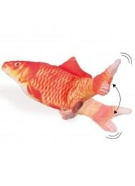 Fla.cat toy fish orange 30cm