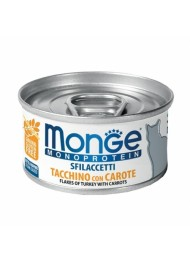 MONGE Mono Turkey and Carrot 80g