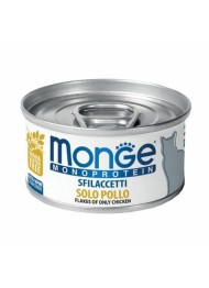 MONGE Mono flakes of only chicken 80g