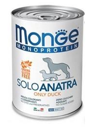 MONGE Solo DOG DUCK 400g
