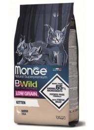 MONGE CAT BWILD goose KITTEN 1,5kg