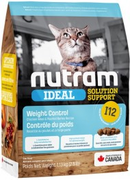 Nutram I12 IDEAL Cat Weight Control 1,1kg