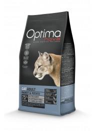 OPTIMANOVA CAT Rabbit&Potato GF 400g