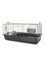 Savic NERO3 DeLux rabbit cage black