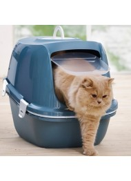 Savic Litter Box Reiina SIFT blue
