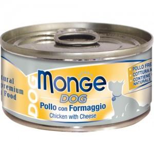 Monge Dog Natural Chicken & Cheese 95 g