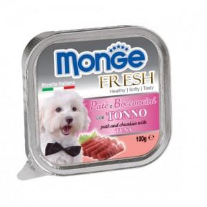 Monge DOg Fresh TUna 100g