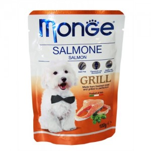 Monge Dog Grill Salmon 100g