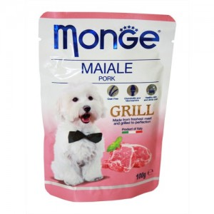 Monge Dog Grill Pork 100g