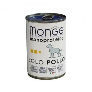 Monge Dog Solo Chicken 400g