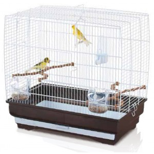 Imac IRENE 3 bird cage silver/brown