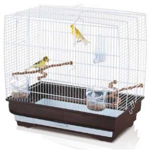 Imac IRENE 3 bird cage silver/brown