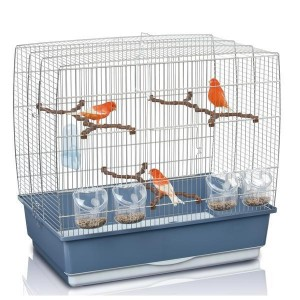 Imac IRENE 4 bird cage silver/brown