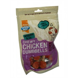 Armitages Chicken Dumbells treats for dogs 100g