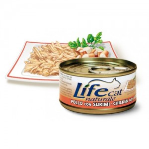 Life Cat Chicken & Surimi 70 g