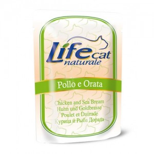 Life Cat Chicken & white fish 70 g pouch