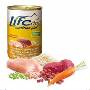 Life Dog Beef & Chicken 400 g