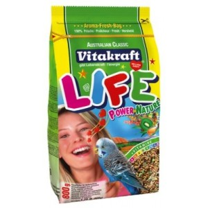 Vitakraft Life Power Food for Budgies 800g