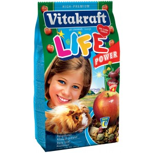 Vitakraft Life Power Food for Guinea Pigs 600g