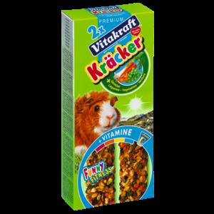 Vitakraft Kräcker Vegetable & Beetroot for Guinea Pig 112g