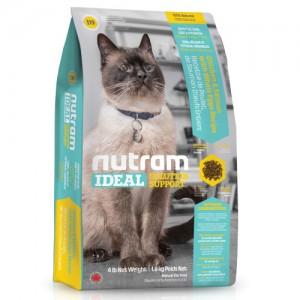 Nutram I19 ideal skin&coat 100% NATURAALNE KASSITOIT..