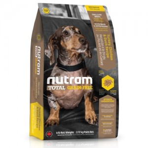 Nutram T27 Total Grain Free Small Breed Chicken & Turkey Dog Food 2,72 kg