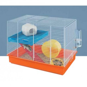 FP. HAMSTER DUO cage for rodents