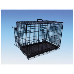 Nobby Transport Cage Foldable black 64x48x54h