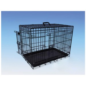 Nobby Transport Cage Foldable black 78x55x62