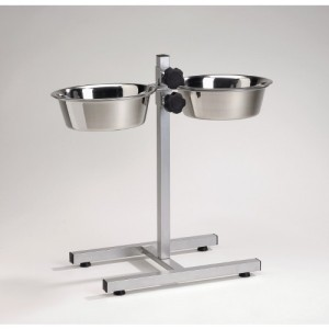 IPTS H-Stand +2 Stainless Steel Bowls 25 cm