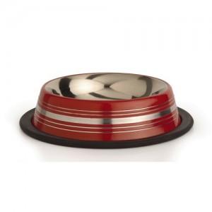 IPTS Steeldish INOX Antislip Red 11 cm