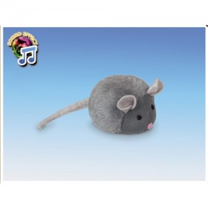 Nobby Plush Mouse with voice 15 cm
