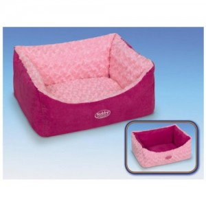 Nobby Comfort Bed ARUSHA pink 45x40x18cm