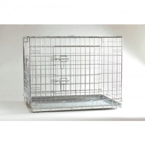 IPTS Dog Cage Zinc Plated 2 Doors 78*55*61 cm