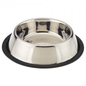 Nobby Stainless Steel bowl, anti slip 450 ml ¤ 19cm