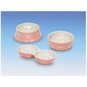 Nobby Ceramic Bowl CAT pink/beige ¤14cm