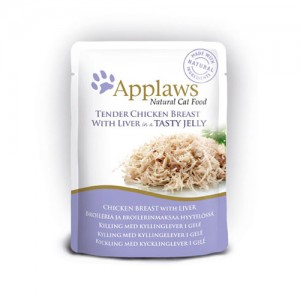 APPLAWS Yelly Chicken&Liver cat 70g