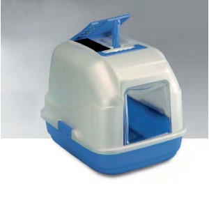 Imac Cat Toilet EASY CAT with filter blue