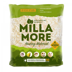 Millamore soft aspen nesting material 50 g